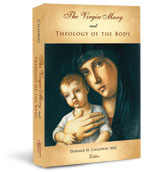 The Theology of the Body is examined in light of Marian dogmas